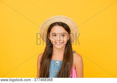 Carefree And Happy. Happy Childhood. Joyful Summer Holiday And Vacation. Kid Seasonal Fashion. Caref