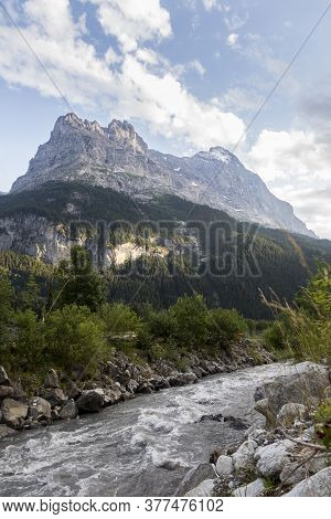 The Eiger Is A 3,967-metre Mountain Of The Bernese Alps, Overlooking Grindelwald And Lauterbrunnen I