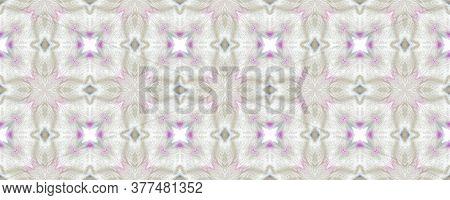 Portuguese Decorative Tiles Background. Modern Leaves Orient Surface. Portuguese Creamy Flower Carpe
