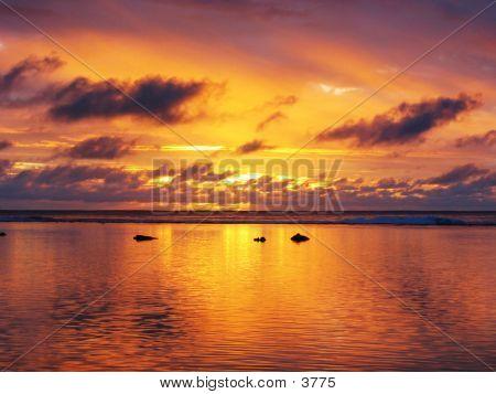 Rarotongan Sunset 02