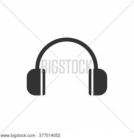 Headphone Icon . Headphone Icon Vector. Headphone Icon Isolated On White Background. Headphone Icon