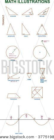Vector Math Illustration