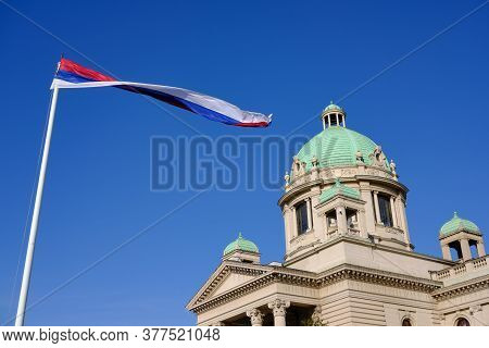 National Assembly Of The Republic Of Serbia, Parliament Of Serbia In Belgrade, Capital Of Serbia