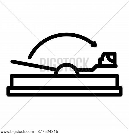 Mouse Animal Trap Icon. Outline Mouse Animal Trap Vector Icon For Web Design Isolated On White Backg
