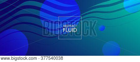 Dark Dynamic Wave. Fluid Abstract Elements. Vivid Geometric Lines. Dynamic Wave. Modern Pattern. Flo