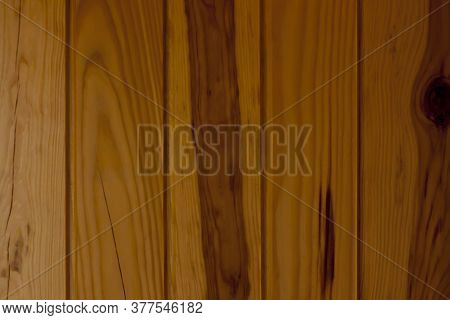 Lacquered Pine Texture, Wood With Knots, Background