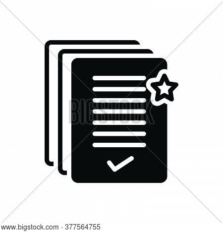 Black Solid Icon For Precedence Priority Pre-eminence Rank Seniority Primacy First-place Eminence Su