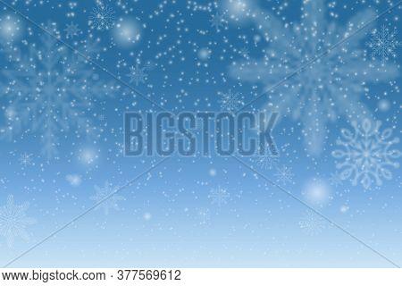 Snowflake Transparent Decoration Effect. Xmas Snow Flake Pattern. Magic White Snowfall Texture. Chri