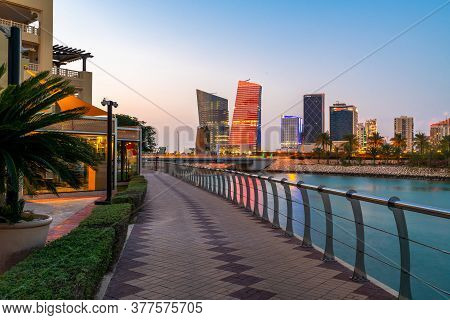Lusail - New City In The Municipality Of Umm Salal, Qatar
