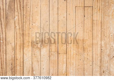 Closeup Detail Of Yellow Wood Texture Background