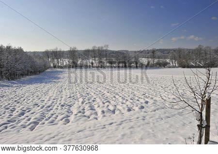 Arable Farming Under Snow Cover
