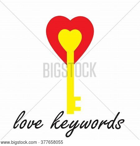 Pictures About Love Keys Can Be Used To Make Pamphlets, Banners, And Images About Love