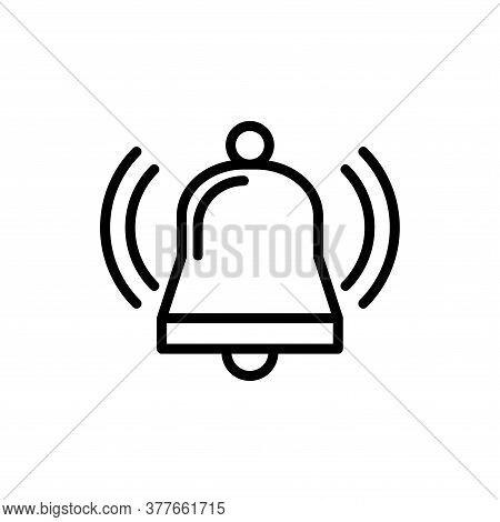 Illustration Vector Graphic Of Bell Icon Template