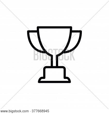 Illustration Vector Graphic Of Trophy Cup Icon Template
