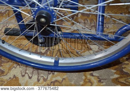 Wheelchair In Various Positions And Details