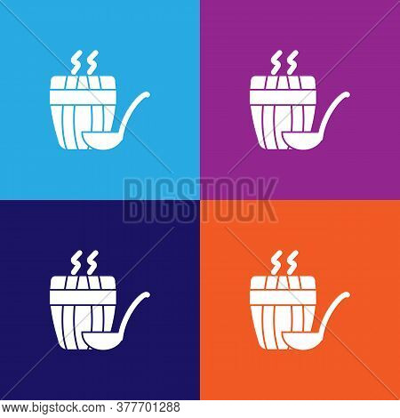 Steam For Sauna Icon. Bathroom And Sauna Element Icon. Signs, Outline Symbols Collection Icon For We