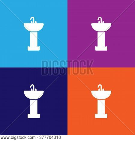Sink In The Bathroom Icon. Bathroom And Sauna Element Icon. Signs, Outline Symbols Collection Icon F