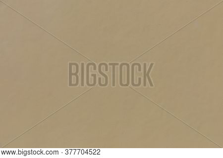 Harmonic Ochre Wall Background With Copy Space