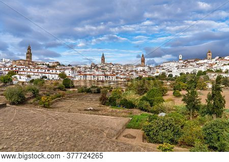 Jerez De Los Caballeros, City At Badajoz, Extremadura In Spain.