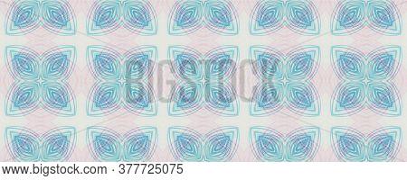 Hand Drawn Geometrical Pattern. Pen Floral Geometric Motif. Background Hand Drawn Geometrical Patter