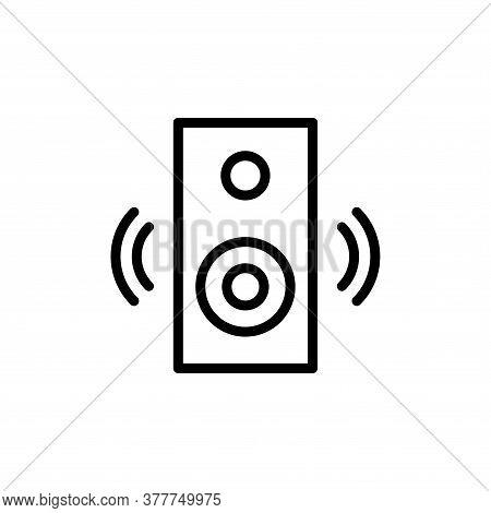 Illustration Vector Graphic Of Multimedia Speaker Icon