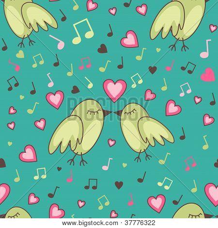 Birds-in-love-pattern