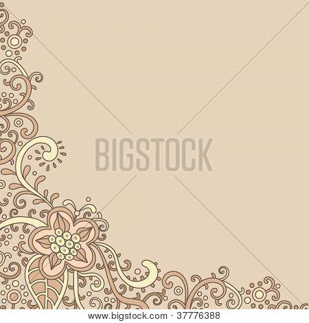 Floral-postcard