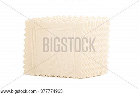 Sheets For Lasagne, Cannelloni Isolated On White Background