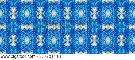 Portuguese Decorative Tiles. Fine Symmetry Print. Portuguese Decorative Tiles Background. Sicilian O