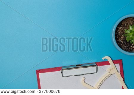 Close Up Of A Tame Measurement And Body Fat Caliper.