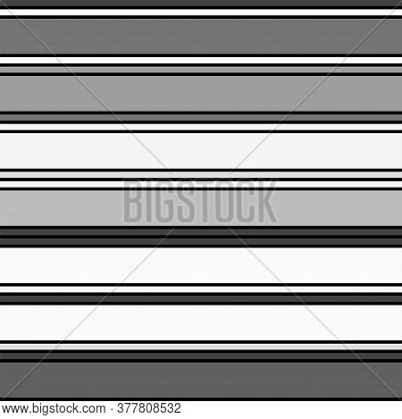 Sailor Stripes Seamless Pattern. Horizontal Lines Endless Design. Autumn Winter Modern Fashion Texti