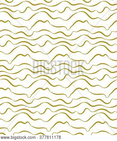 Repeat Elegant Graphic Circular Swatch Pattern. Seamless Abstract Vector Flow Decoration Texture. Re
