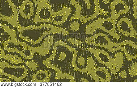 Mask Repeated Water Graphic Backdrop. Wallpaper Pattern Military Seamless Ripple Vector Wallpaper.