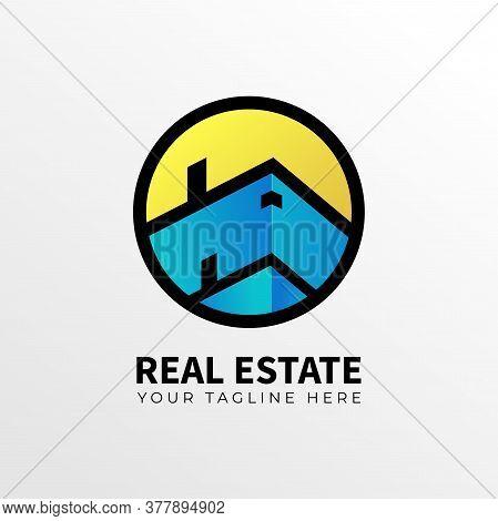 Logo Design Concept For Realestate Or  House