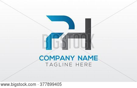 Initial Ph Letter Logo With Creative Modern Business Typography Vector Template. Creative Letter Ph