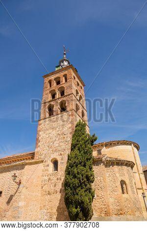 Church of San Andres, romanesque style, Segovia, Castilla Leon
