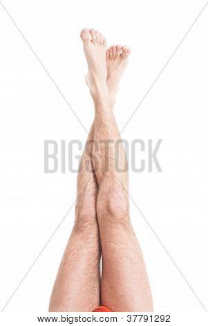 Slim Male Legs