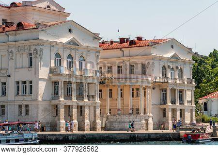 Sevastopol, Crimea - July 3, 2019. Sevastopol Palace Of Childrens And Youth Creativity