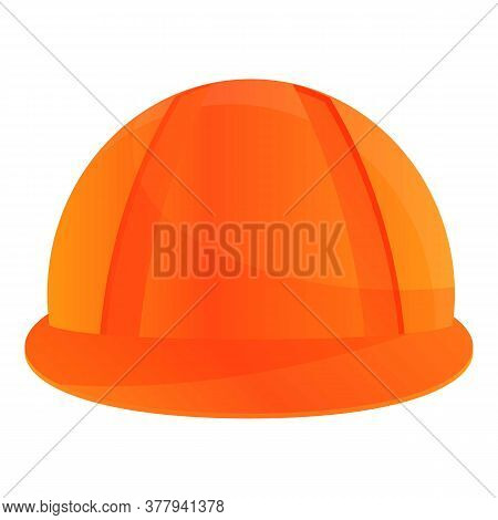 Metallurgy Worker Helmet Icon. Cartoon Of Metallurgy Worker Helmet Vector Icon For Web Design Isolat