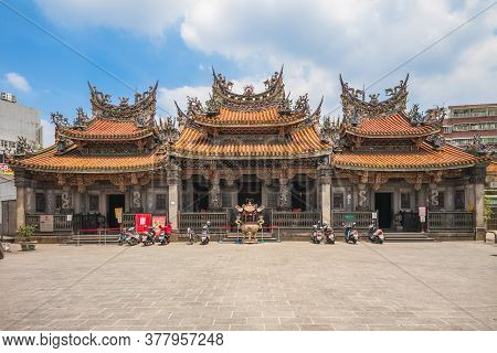 July 23, 2020: Zushi Temple, A Taoist Temple Worshiped Qingshui Zushi Gong And Located Along Sanxia
