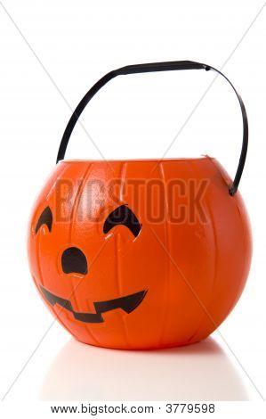 Jack-O-Lantern Candy Bucket