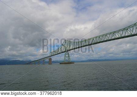Astoria-megler Bridge In Astoria Oregon \npacific Northwest