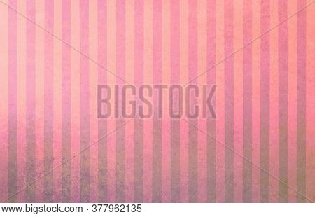Pink Orange Beige Gray Abstract Striped Background With Blur And Gradient. Striped Texture. Space Fo