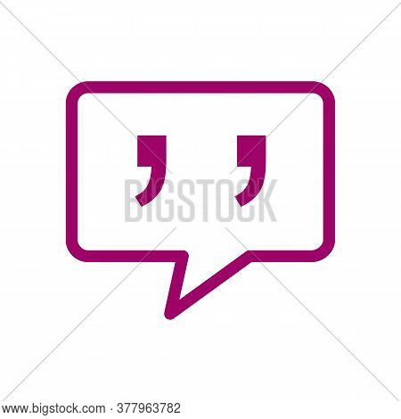 Speech Bubble Vector Sketch Icon Isolated On Background. Hand Drawn Speech Bubble Icon. Speech Bubbl
