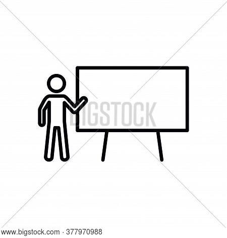 Illustration Vector Graphic Of Blackboard Icon Template