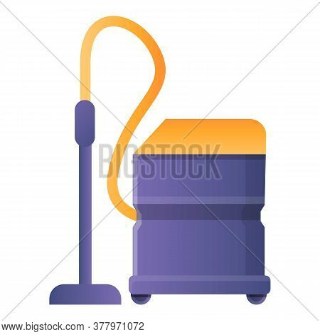Appliance Steam Cleaner Icon. Cartoon Of Appliance Steam Cleaner Vector Icon For Web Design Isolated