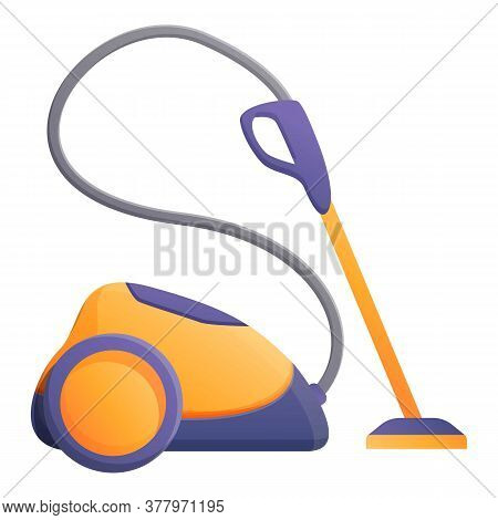 Carpet Steam Cleaner Icon. Cartoon Of Carpet Steam Cleaner Vector Icon For Web Design Isolated On Wh