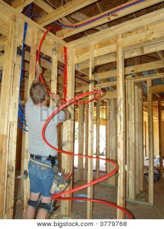 Installing Pex Plumbing
