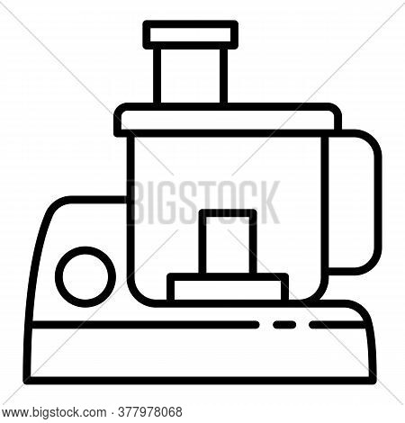 Home Appliance Mixer Icon. Outline Home Appliance Mixer Vector Icon For Web Design Isolated On White