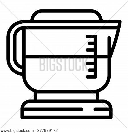 Espresso Coffee Maker Icon. Outline Espresso Coffee Maker Vector Icon For Web Design Isolated On Whi